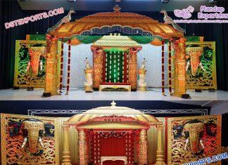 Grand Srilankan Wedding Manavarai Mandap Germany
