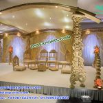 Hand Carved Stylish Wedding Wooden Mandap