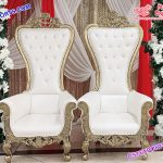 High Back Bride-Groom Chairs for Wedding