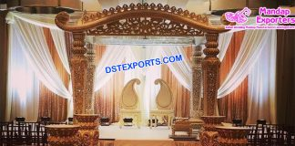 Hindu Wedding Mustache Mandap Germany