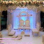 Indian Wedding Square Wooden Craft Mandap UK