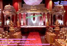 Latest Hindu Wedding Manavarai Mandap Set