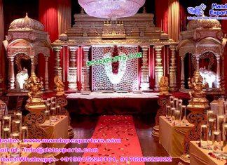 Latest Hindu Wedding Manavarai Mandap Set