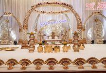Latest South Indian Wedding Elephant Teeth Mandap