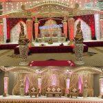 Latest Wedding Fiber Dhanush Mandap & Stage