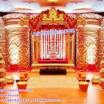Modern South Indian Wedding Manavarai Stage