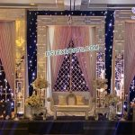 Modern Wedding Stage Candle Wall Frame