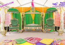 Muslim Walima Sangeet Jhula Set