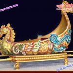 Princess Wedding Designer Swan Doli/Palki