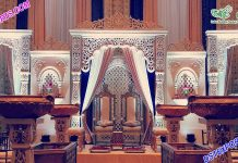 Raj Mahal Wedding Stage Setup Dallas