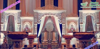 Raj Mahal Wedding Stage Setup Dallas
