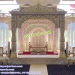 Stunning Bollywood Wedding Fiber Mandap Sydney