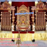 Stylish South Indian Wedding Stage/Mandap
