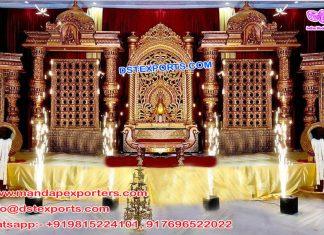 Stylish South Indian Wedding Stage/Mandap