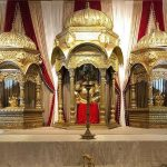 Tamilian Wedding Stage with Temples