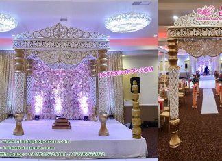 Amazing Maharaja Wedding Crystal Mandap Sydney
