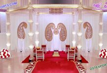 Amazing Wedding Crystal Mandap Set Durban