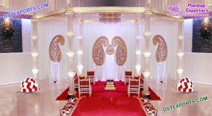 Amazing Wedding Crystal Mandap Set Durban