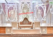 Amazing Wedding Fiber Stage Decor London