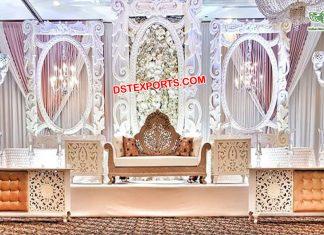 Amazing Wedding Fiber Stage Decor London