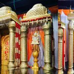 Amazing Wedding Temple Style Mandap Set