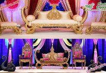 Arabian Wedding Boat Style sofa