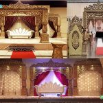 Bollywood Wedding Maharani Mandap Stage Melbourne