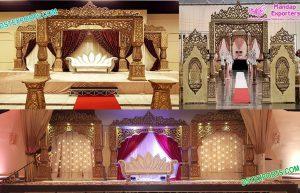 Bollywood Wedding Maharani Mandap Stage Melbourne
