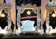 Classy Wedding Heavy Fiber Carved Frames London