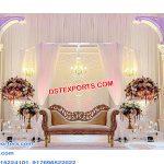Classy Wedding Reception Fiber Back Frames
