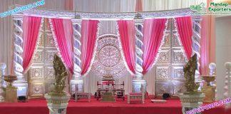 Dreamy Indian Wedding Stage Decoration USA