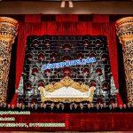 Dreamy Wedding Reception Stage Decor