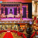Elegant Wedding Fiber Crystal Mandap Chicago