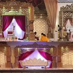 Exclusive Wedding Bollywood Mandap Stage Norway
