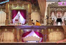 Exclusive Wedding Bollywood Mandap Stage Norway