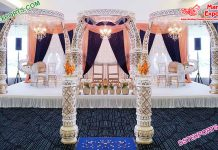 Exclusive Wedding Elephant Tusk Mandap London