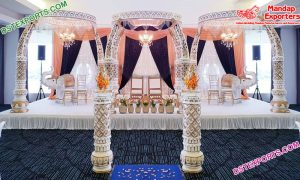 Exclusive Wedding Elephant Tusk Mandap London
