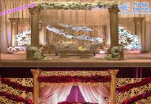 Exclusive Wedding Roman Pillar Stage Atlanta