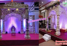 Gorgeous Bollywood Wedding FRP Mandap Kenya