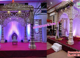 Gorgeous Bollywood Wedding FRP Mandap Kenya