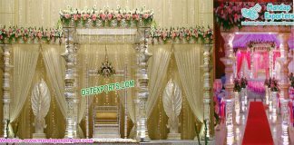 Gorgeous Wedding Devdas Mandap Set Fiji