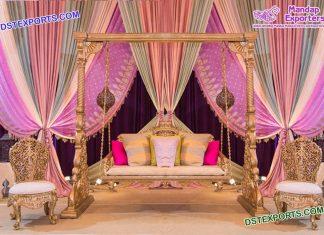 Gujrati Garba Night Wedding Swing set