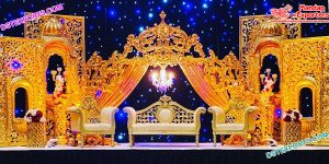 Marvelous Wedding Reception Crown Stage USA