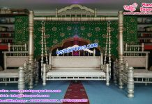 Muslim Wedding Mehndi Function Swing Set