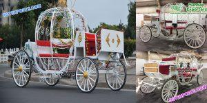 Pumpkin Style Cinderella Horse Drawn Carriage