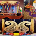 Punjabi Wedding Mehndi Function Decoration Props