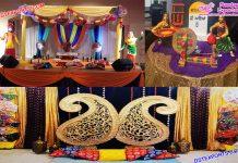 Punjabi Wedding Mehndi Function Decoration Props