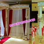 Royal Wedding Fiber Mandap Germany