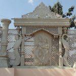 Royal Wedding Radha Krishna Fiber Stage