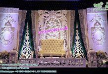 Royal Wedding Stage Fiber Back-Frames